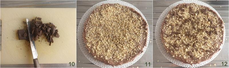 cheesecake alla nutella senza colla di pesce ricetta veloce il chicco di mais 4 decorare cheesecake alla nutella