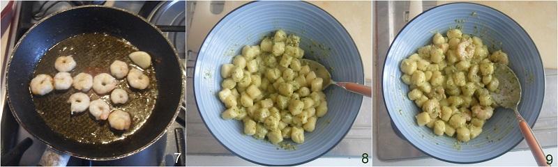 Gnocchi al pesto con gamberi ricetta veloce il chicco di mais 3 assemblare il piatto