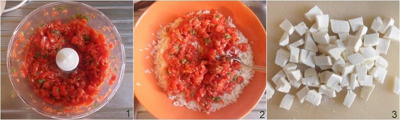 Riso freddo alla caprese ricetta insalata di riso veloce il chicco di mais 1 preparare il condimento