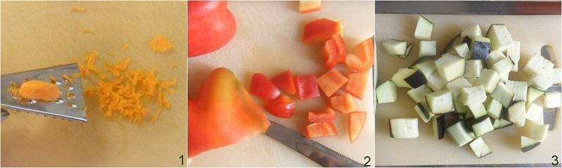 verdure alla curcuma ricetta vegana il chicco di mais 1 tagliare le verdure