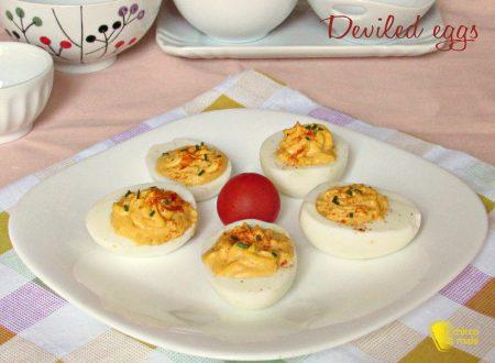 Deviled eggs, uova ripiene