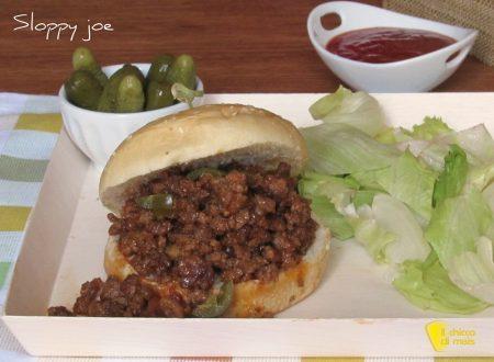 Sloppy joe: panino con carne macinata
