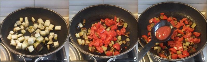 gnocchi gratinati con melanzane ricetta gnocchi al forno il chicco di mais 2 cuocere le melanzane