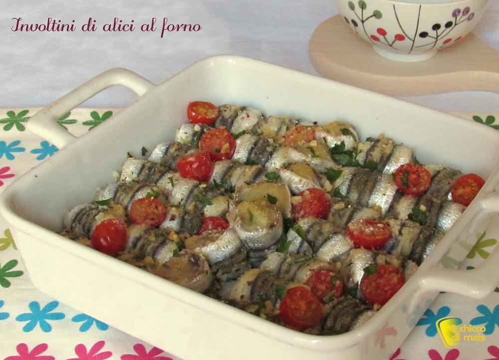 antipasti di natale involtini di alici forno ricetta facile con patate il chicco di mais