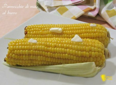 Pannocchie di mais al burro