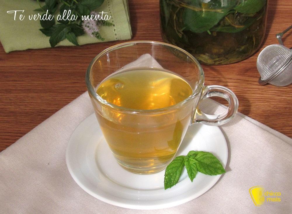 tè alla menta ricetta the verde alla menta freddo o caldo il chicco di mais