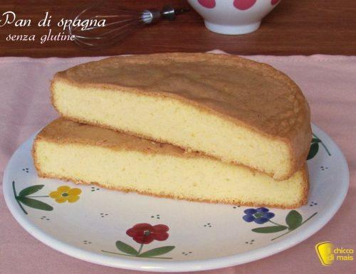 Pan di spagna senza glutine con farina di riso