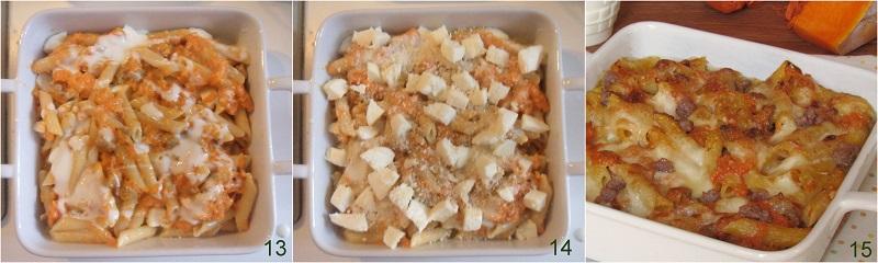 Pasta al forno zucca e salsiccia ricetta facile il chicco di mais 5 cuocere la pasta al forno
