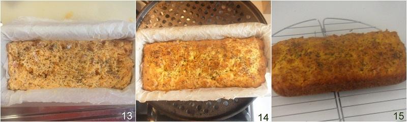 Plumcake salato alla zucca e speck soffice e saporito ricetta il chicco di mais 5 cuocere il cake salato