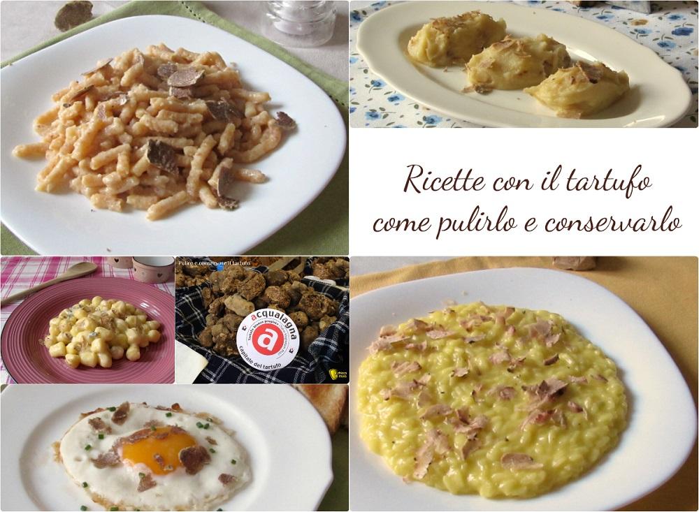 Ricette con tartufo