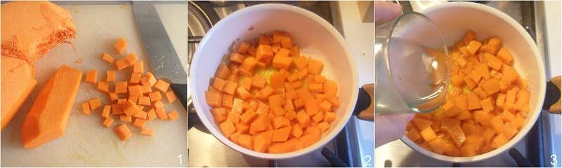 Risotto zucca e gorgonzola filante ricetta facile il chicco di mais 1 cuocere la zucca