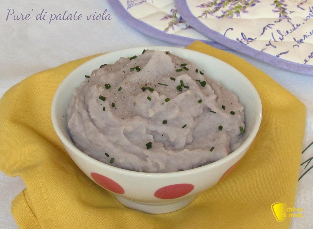 cenone di natale purè di patate viola ricetta con patate viola americane il chicco di mais