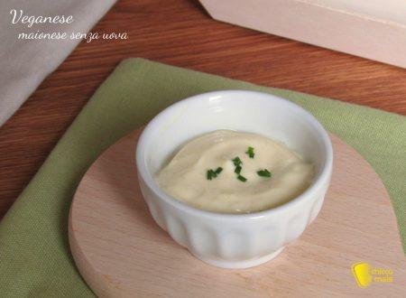 Veganese: maionese senza uova