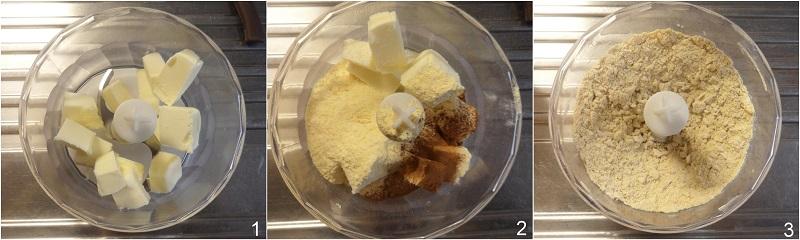 Biscotti alla cannella ricetta biscotti facili anche senza glutine a stella il chicco di mais 1 impastare burro e farina