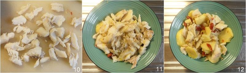 Insalata di baccalà e patate ricetta facile antipasto per natale o capodanno di pesce economico il chicco di mais 4 condire l'insalata