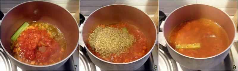 Lenticchie con salsiccia in umido ricetta capodanno lenticchie senza cotechino il chicco di mais 3 cuocere le lenticchie