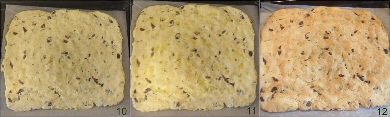 focaccia versiliese ricetta focaccia con olive e erbe toscana il chicco di mais 4 cuocere la focaccia