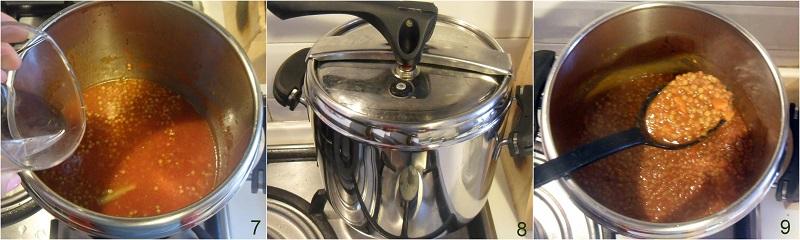 lenticchie in umido nella pentola a pressione ricetta veloce il chicco di mais 3 cuocere le lenticchie in pentola a pressione