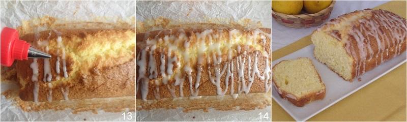plumcake al limone glassato senza burro ricetta plumcake con glassa al limone il chicco di mais 5 glassare il plumcake