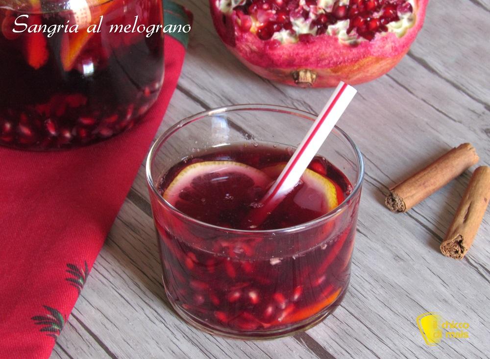 menu per la cena di san valentino ricette facili aperitivo sangria al melograno il chicco di mais
