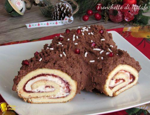 Tronchetto di Natale o Bûche de Noël