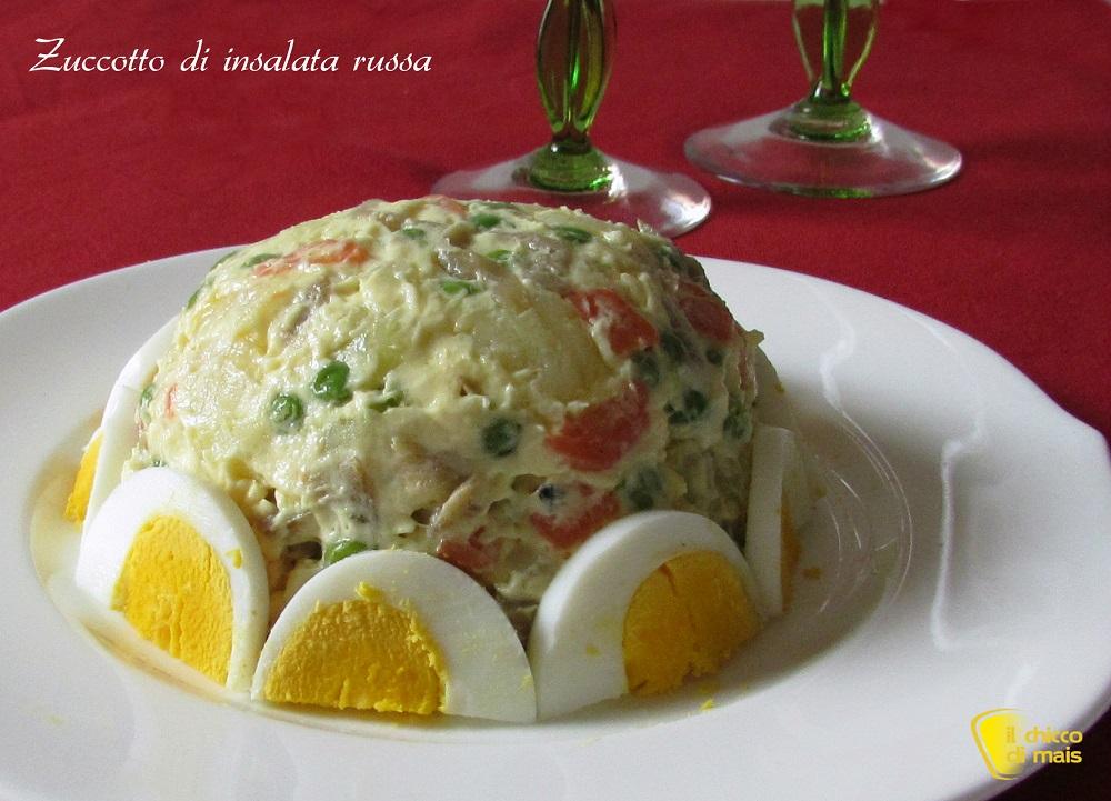 5 modi per servire l'insalata russa 1 zuccotto di insalata russa ricetta il chicco di mais
