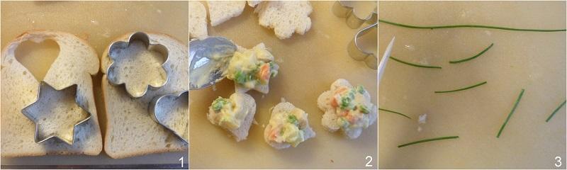 5 modi per servire l'insalata russa 4 tartine con insalata russa ricetta il chicco di mais procedimento