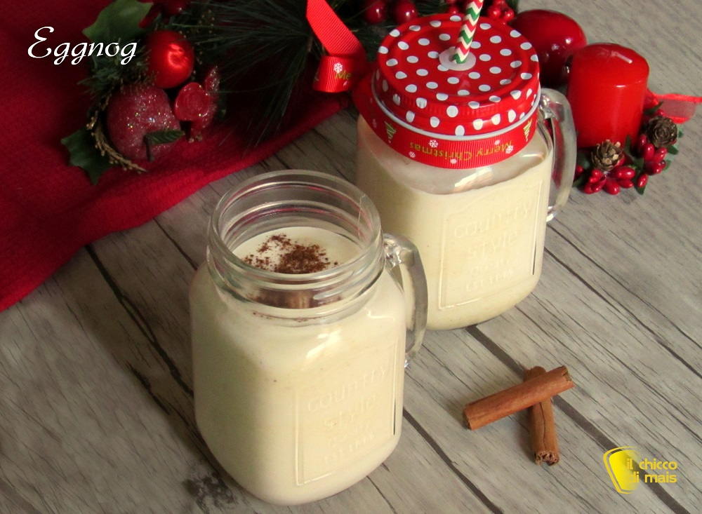 i dolci di natale eggnog bevanda allo zabaione americana ricetta senza uova crude il chicco di mais 1