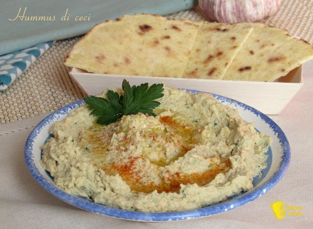 hummus di ceci ricetta originale crema di ceci mediorientale facile e veloce con video il chicco di mais