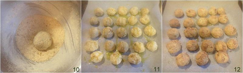 polpette di pollo al forno ricette light crocchette di pollo con hummus di ceci il chicco di mais 4 cuocere le polpette in forno