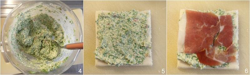 tramezzini sfiziosi fingerfood con prosciutto e formaggio alla rucola ricetta antipasto veloce buffet il chicco di mais 2 strato 1 dei mini club sand