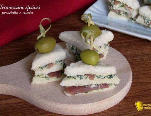 Tramezzini sfiziosi fingerfood