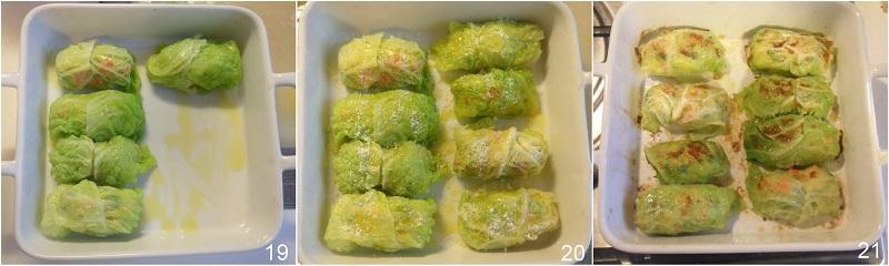 Involtini di verza con verdure ricetta vegetariana facile leggera al forno il chicco di mais 7 cuocere gli involtini al forno