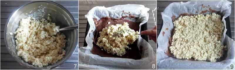 barrette ai cereali e cioccolato ricetta kinder cereali fatto in casa il chicco di mais 3 riempire le barrette