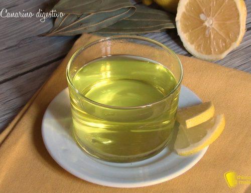 Canarino digestivo al limone e alloro