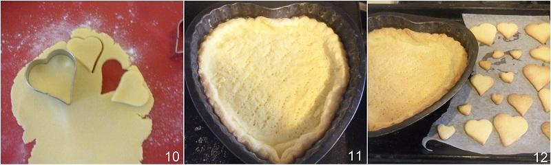 crostata con ganache al cioccolato ricetta dolce a cuore per san valentino il chicco di mais 4 cuocere la crostata in bianco