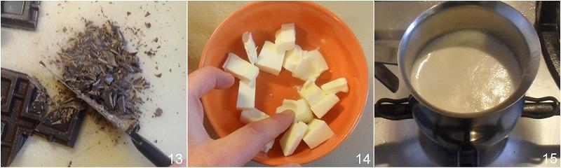 crostata con ganache al cioccolato ricetta dolce a cuore per san valentino il chicco di mais 5 prepatate la ganache