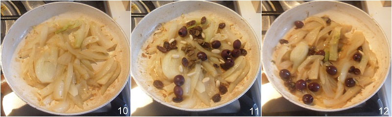 finocchi in padella con olive ricetta leggera e gustosa con i finocchi cotti il chicco di mais 4 unire olive e capperi