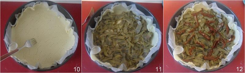 Torta salata ai carciofi e mozzarella ricetta facile e gustosa il chicco di mais 4 farcire la torta salata