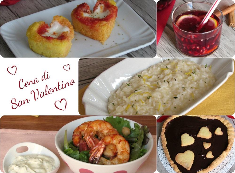 Cena di san valentino menu con ricette facili e sfiziose il chicco di mais - Idee cena romantica a casa ...