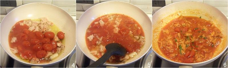 pasta al tonno ricetta semplice e saporita il chicco di mais 2 unire la polpa di pomodoro