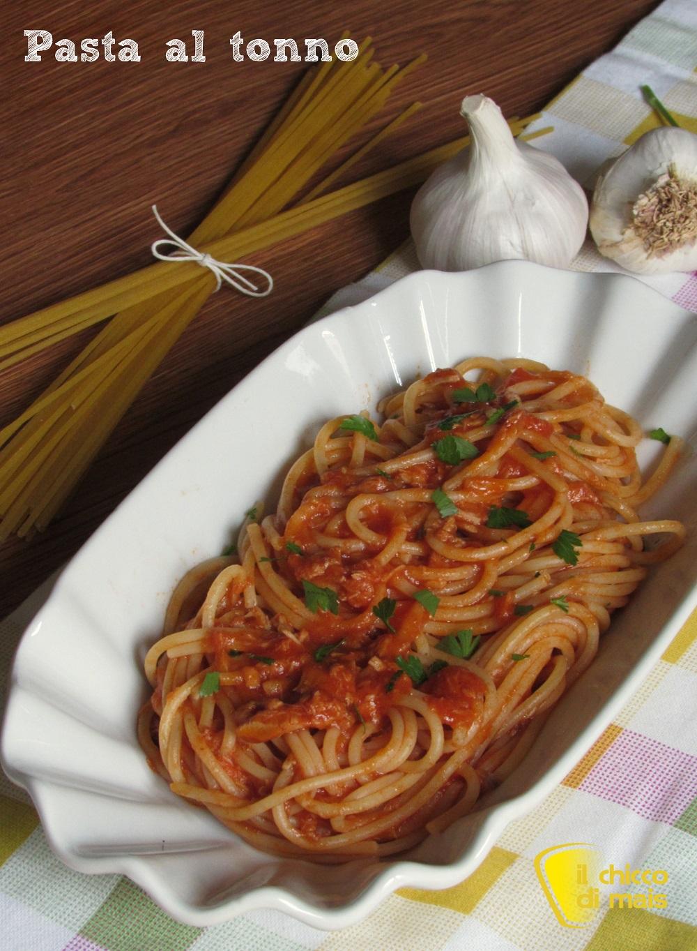 verticale_pasta al tonno ricetta semplice e saporita il chicco di mais
