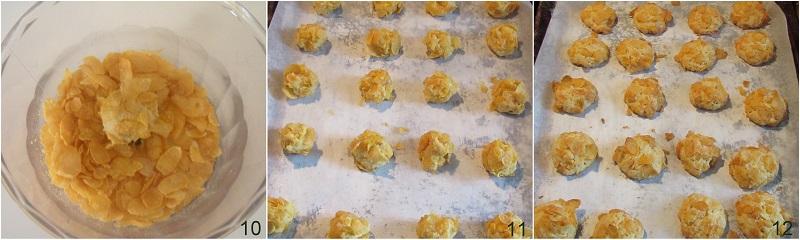 Rose del deserto ricetta biscotti facili con corn flakes il chicco di mais 4 cuocere i biscotti
