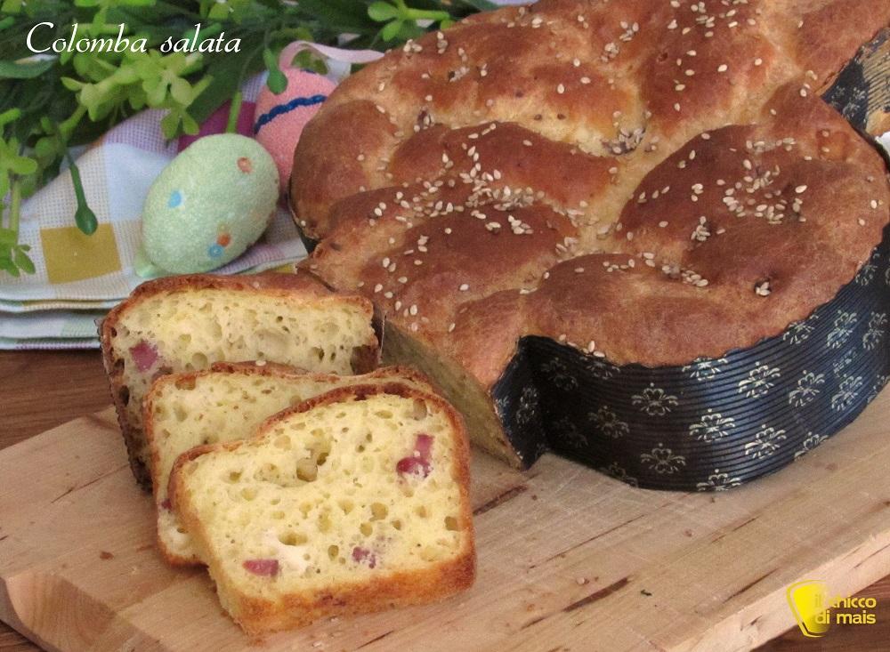 antipasti di pasqua colomba salata con salumi e formaggi ricetta rustico di pasqua anche senza glutine il chicco di mais