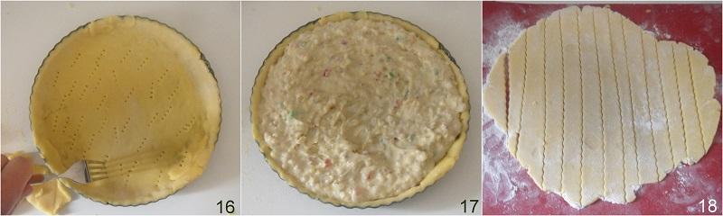 pastiera senza glutine con grano saraceno ricetta napoletana di Pasqua il chicco di mais 6 formare la griglia