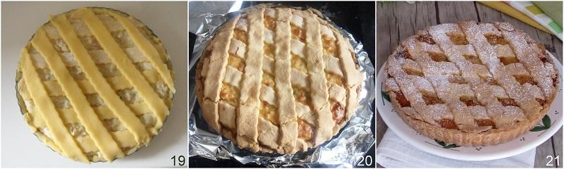 pastiera senza glutine con grano saraceno ricetta napoletana di Pasqua il chicco di mais 7 cuocere la pastiera