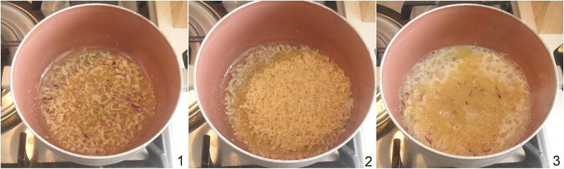 riso al forno filante con zafferano ricetta facile sformato di riso giallo il chicco di mais 1 soffriggere la cipolla