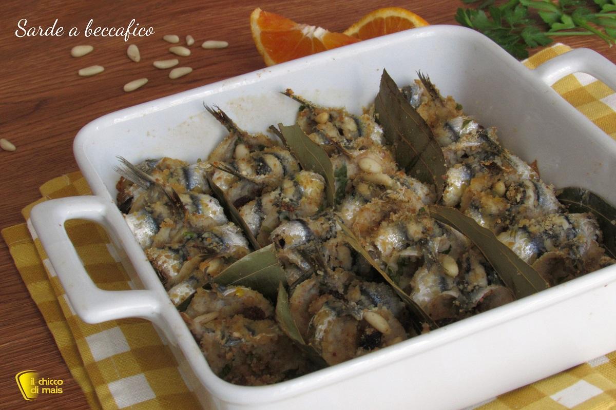 sarde a beccafico ricetta siciliana facile e gustosa il chicco di mais