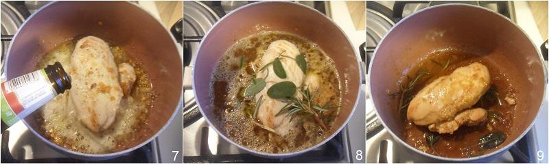 tagliata di pollo alla birra ricetta facile e sfiziosa con petto di pollo intero il chicco di mais 3 cuocere il pollo alla birra