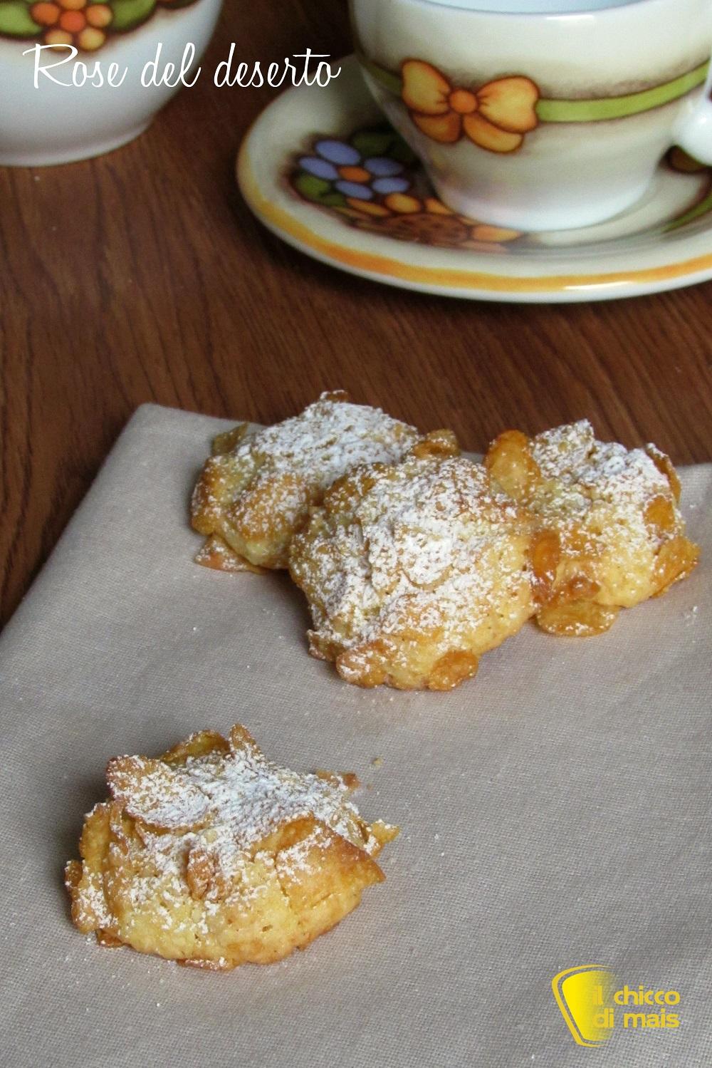 verticale_Rose del deserto ricetta biscotti facili con corn flakes il chicco di mais